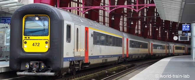 Europe train travel lab | ベル...