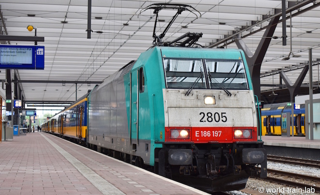 Europe train travel lab | オラ...